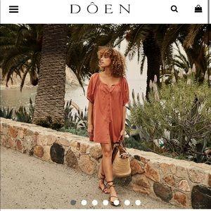 NWT Dôen Josette dress - Tierra - size XS